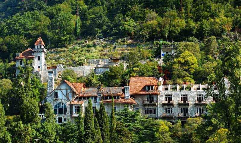 парк принца ольденбурского Абхазию