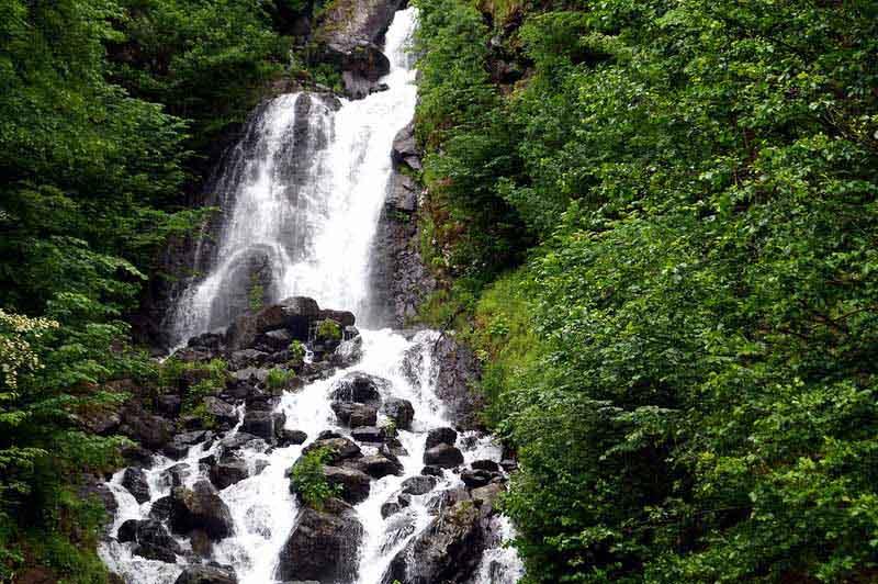 фото водопад абхазия