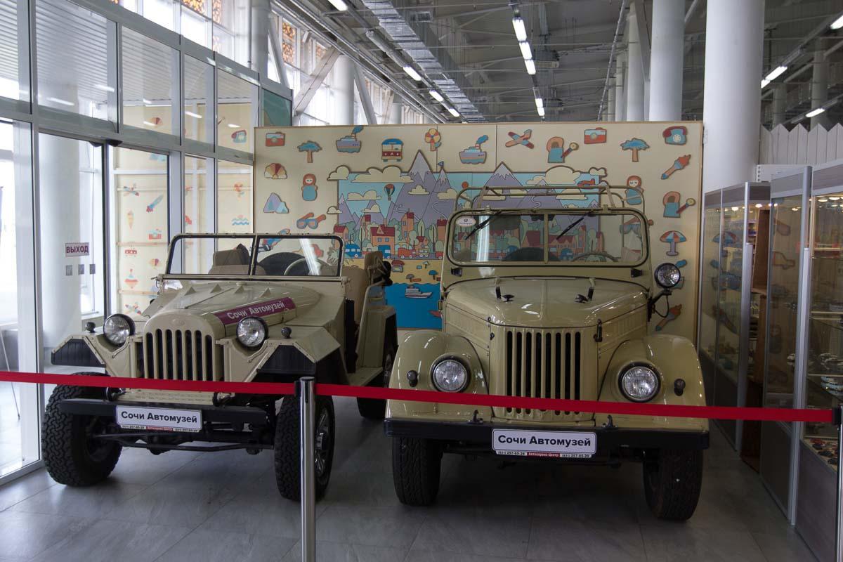 автомузей олимпийский парк