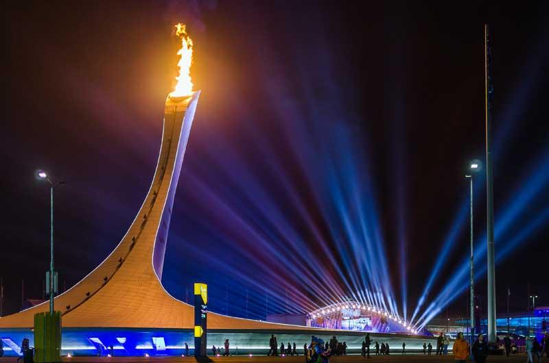 фонтаны олимпийский пар