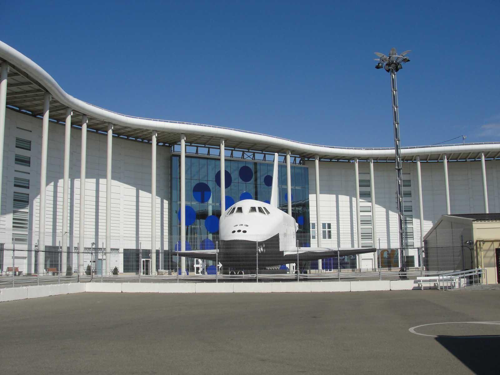 Космический шаттл Буран олимпийский парк